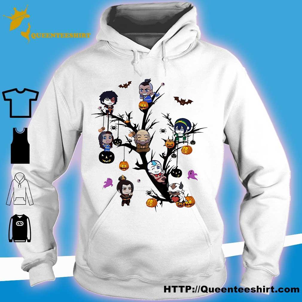 Halloween tree cartoon s hoodie