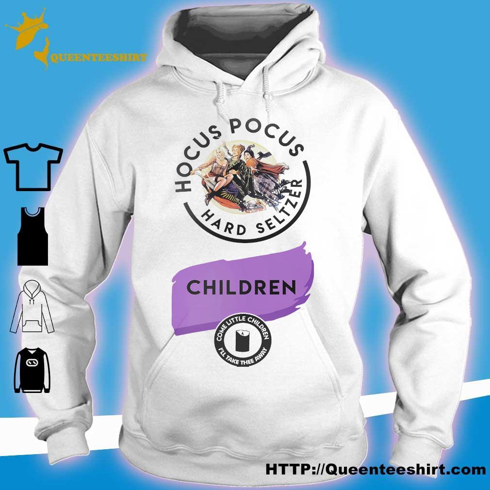 Hocus Pocus hard seltzer children s hoodie