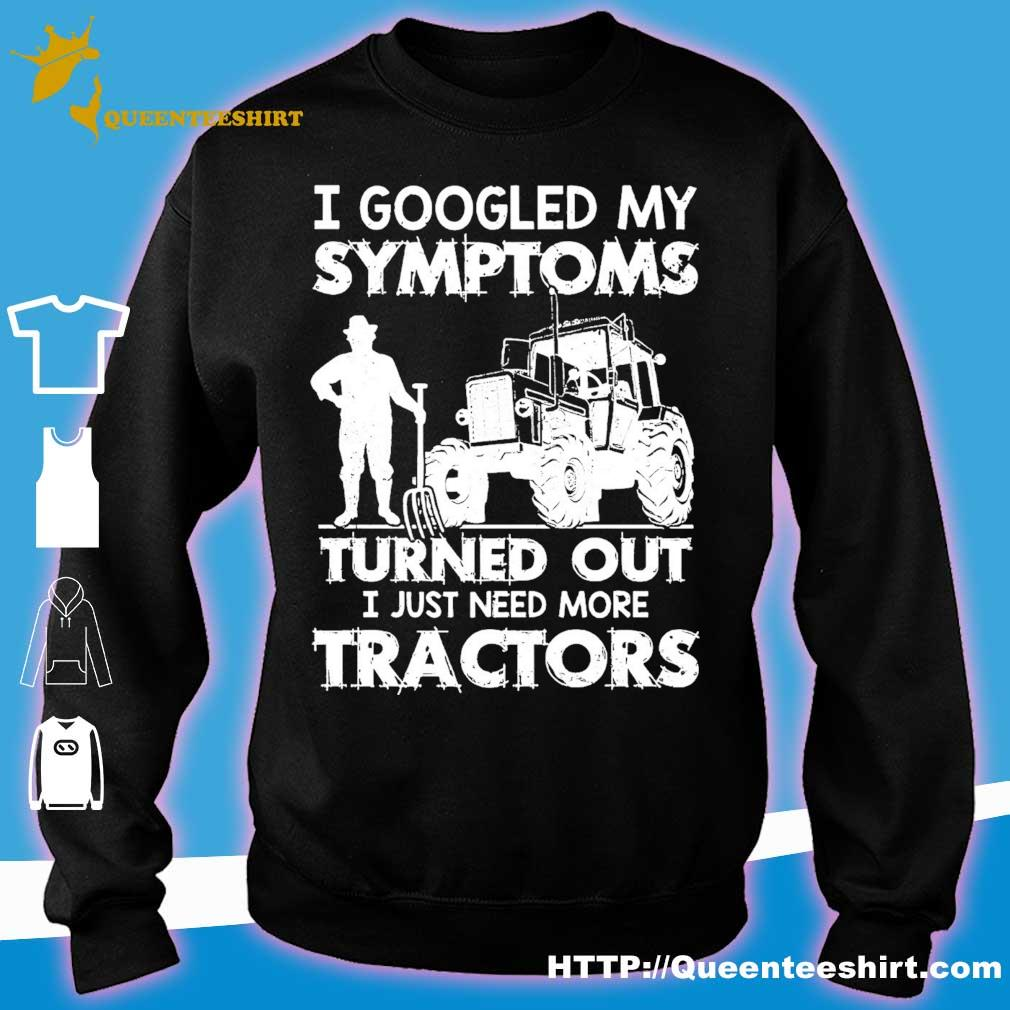 I googled my symptoms turns out I just need more tractors s sweater