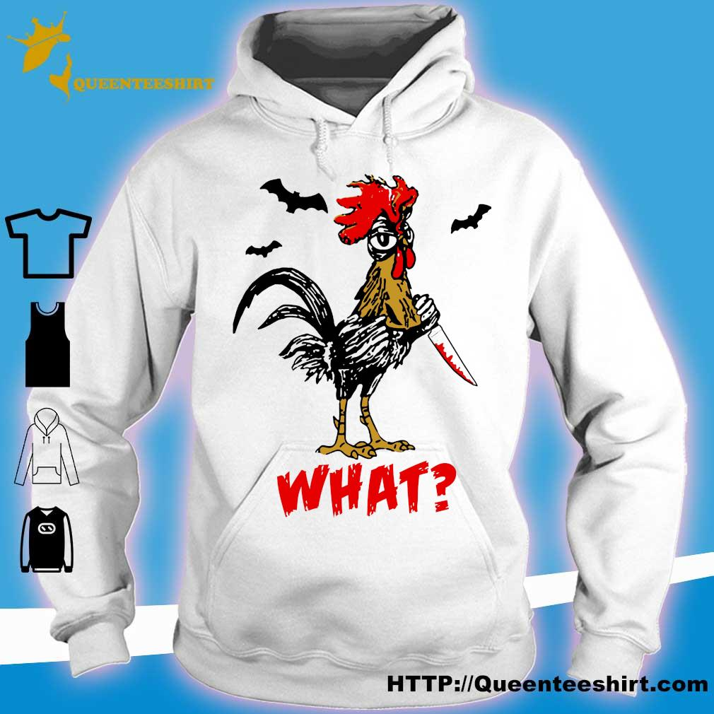Jason Voorhees Chicken Halloween what s hoodie