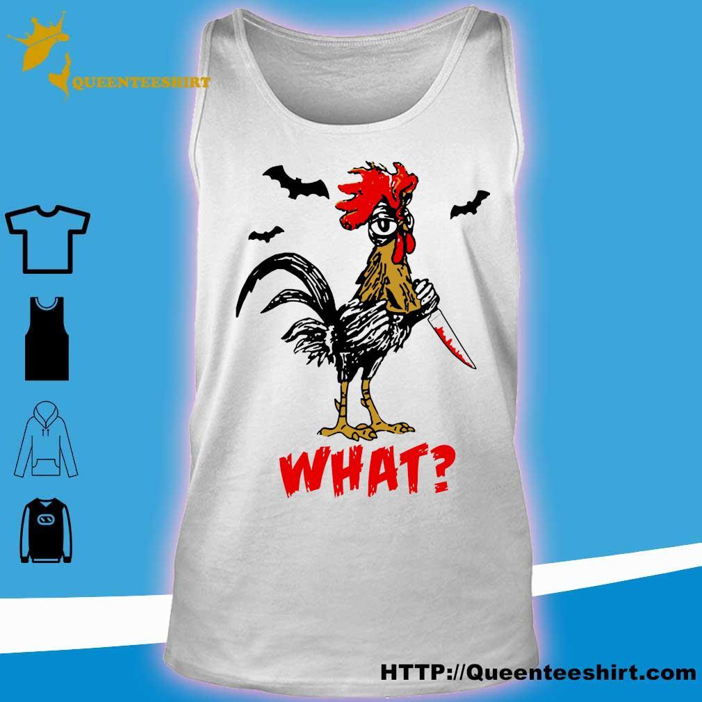 Jason Voorhees Chicken Halloween what s tank top