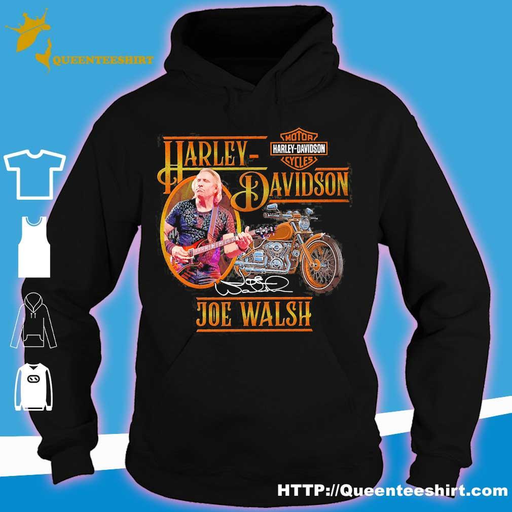 Motor Harley Davidson Cycles Joe Walsh signature s hoodie
