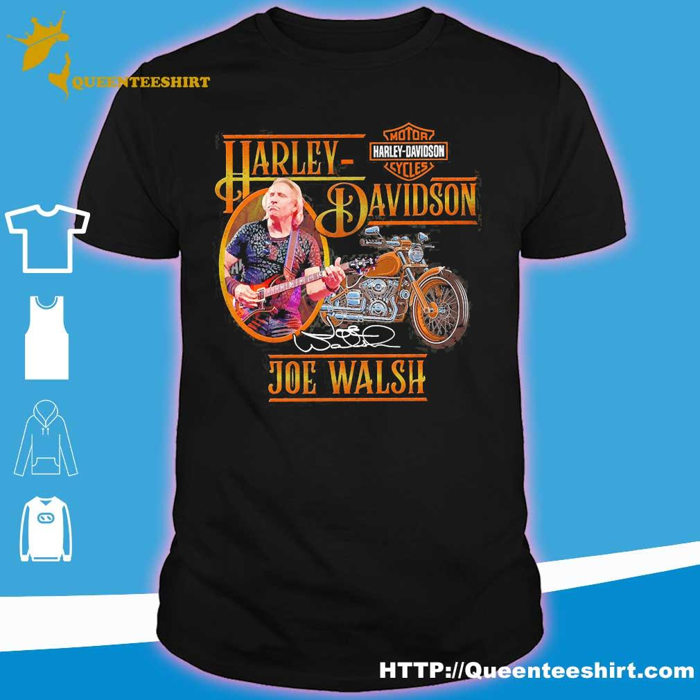 Motor Harley Davidson Cycles Joe Walsh signature shirt