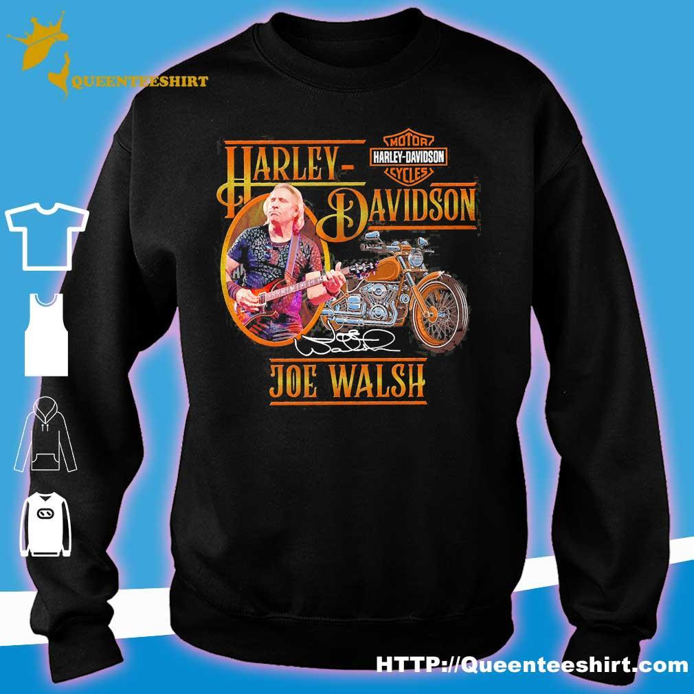 Motor Harley Davidson Cycles Joe Walsh signature s sweater