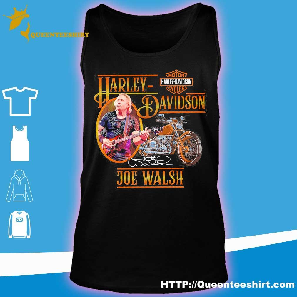 Motor Harley Davidson Cycles Joe Walsh signature s tank top
