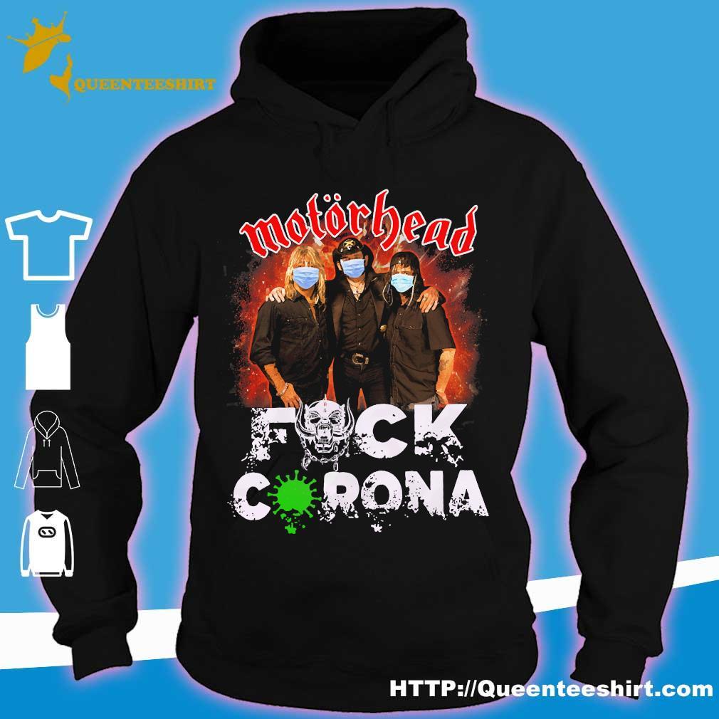 Motorhead mask fuck corona s hoodie
