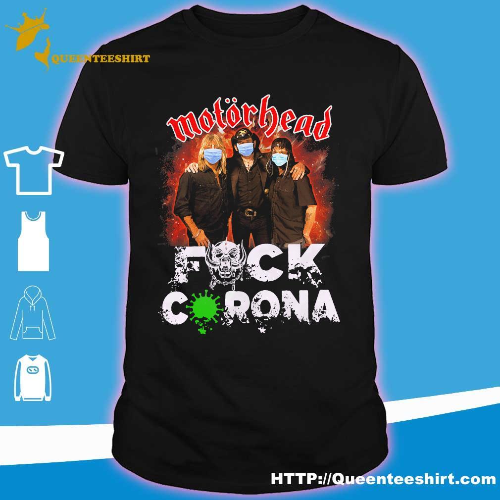 Motorhead mask fuck corona shirt
