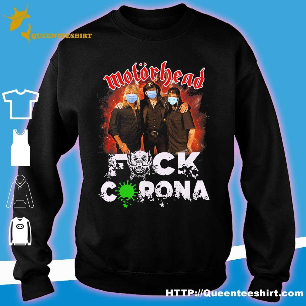 Motorhead mask fuck corona s sweater