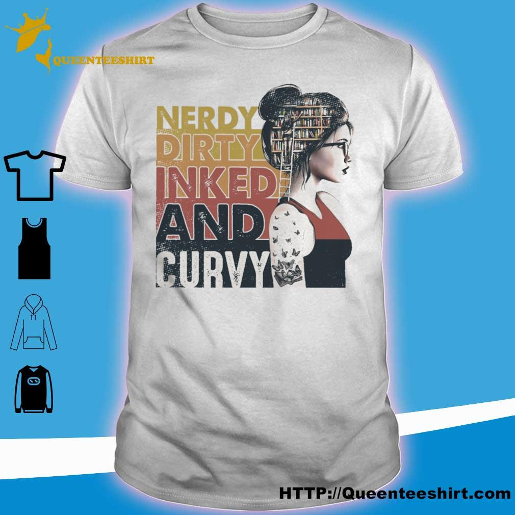 Nerdy dirty inked and curvy shirt