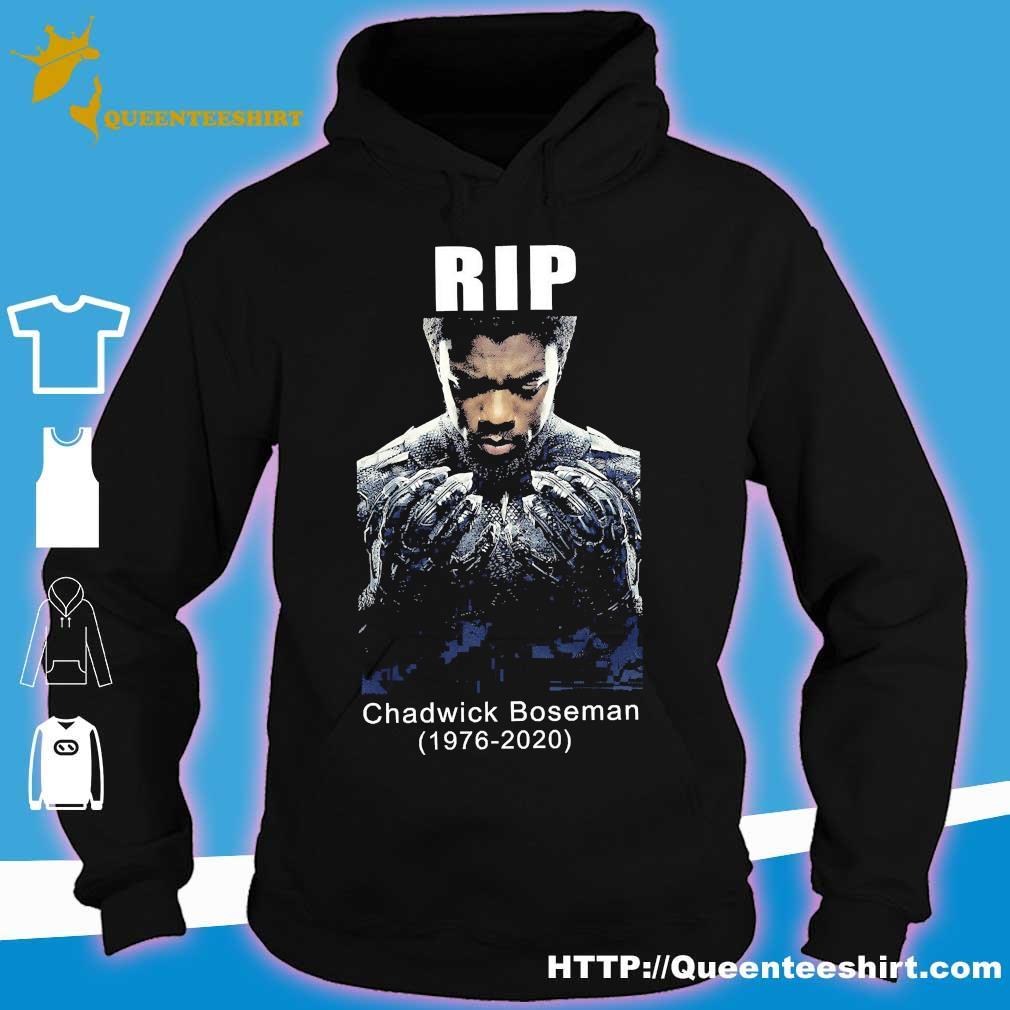 Rip Chadwick Boseman 1977 2020 s hoodie