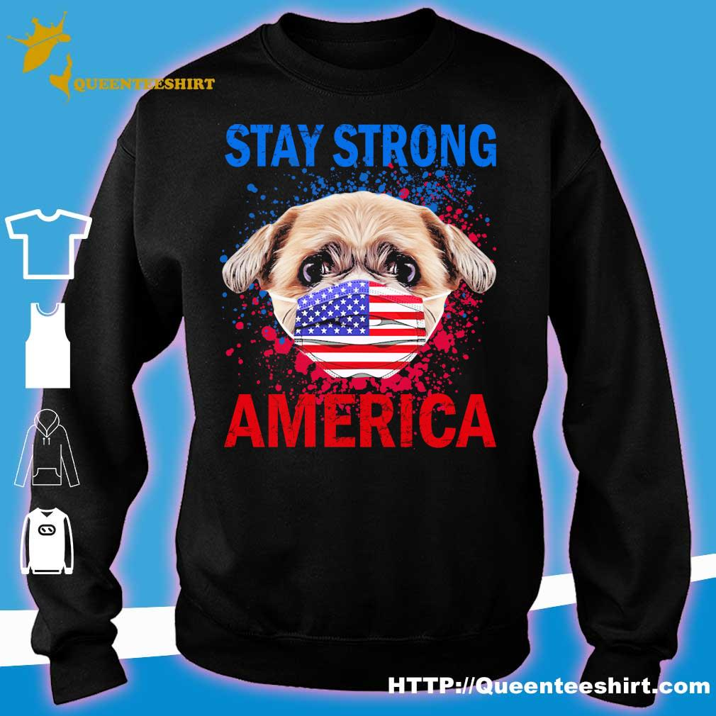 Shih Tzu face mark stay strong america s sweater