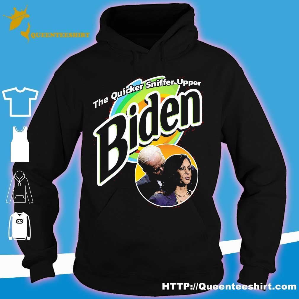 The quicker sniffer upper Biden s hoodie