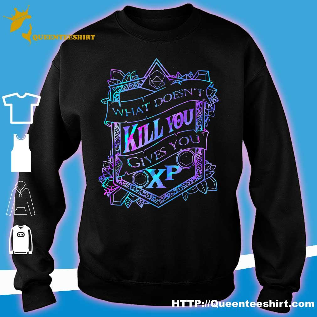 What doesn't kill You gives You XP s sweater