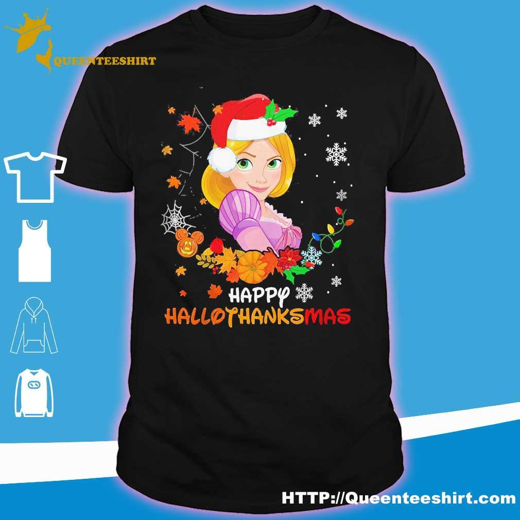 Rapunzel Happy Hallothanksmas shirt
