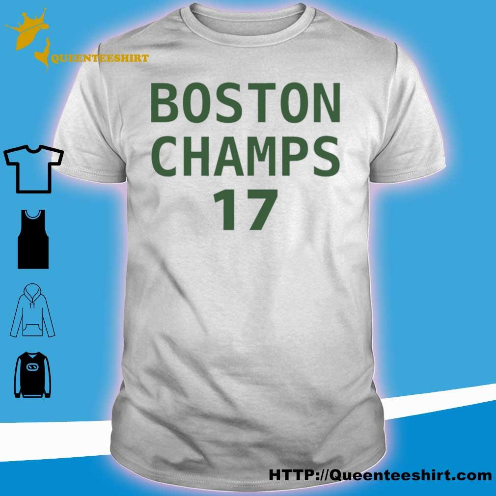 Official Boston Champs 17 2020 Shirt