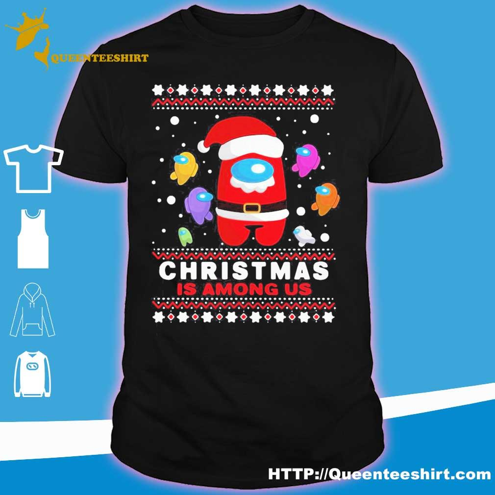Official Imposter Ugly Christmas Is Among Us Ugly Shirt
