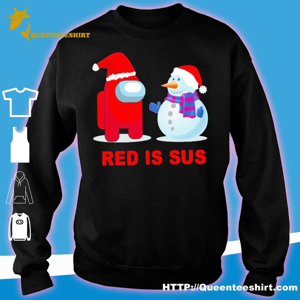 Official Sus Among Us, Christmas Among Us, Among Us Christmas, Among Us Game, Among Us Xmas, Among Us Shirt, Funny Among Us Shirt sweater