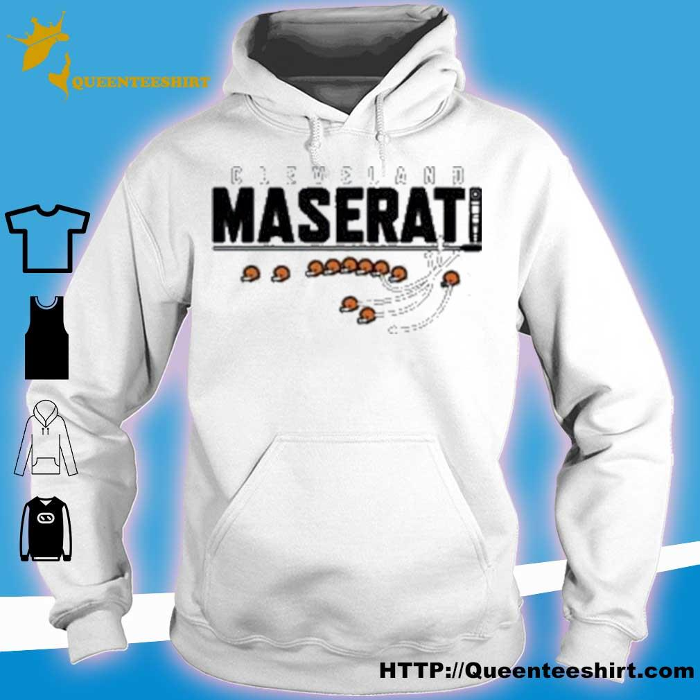 Official Cleveland Maserati Shirt hoodie