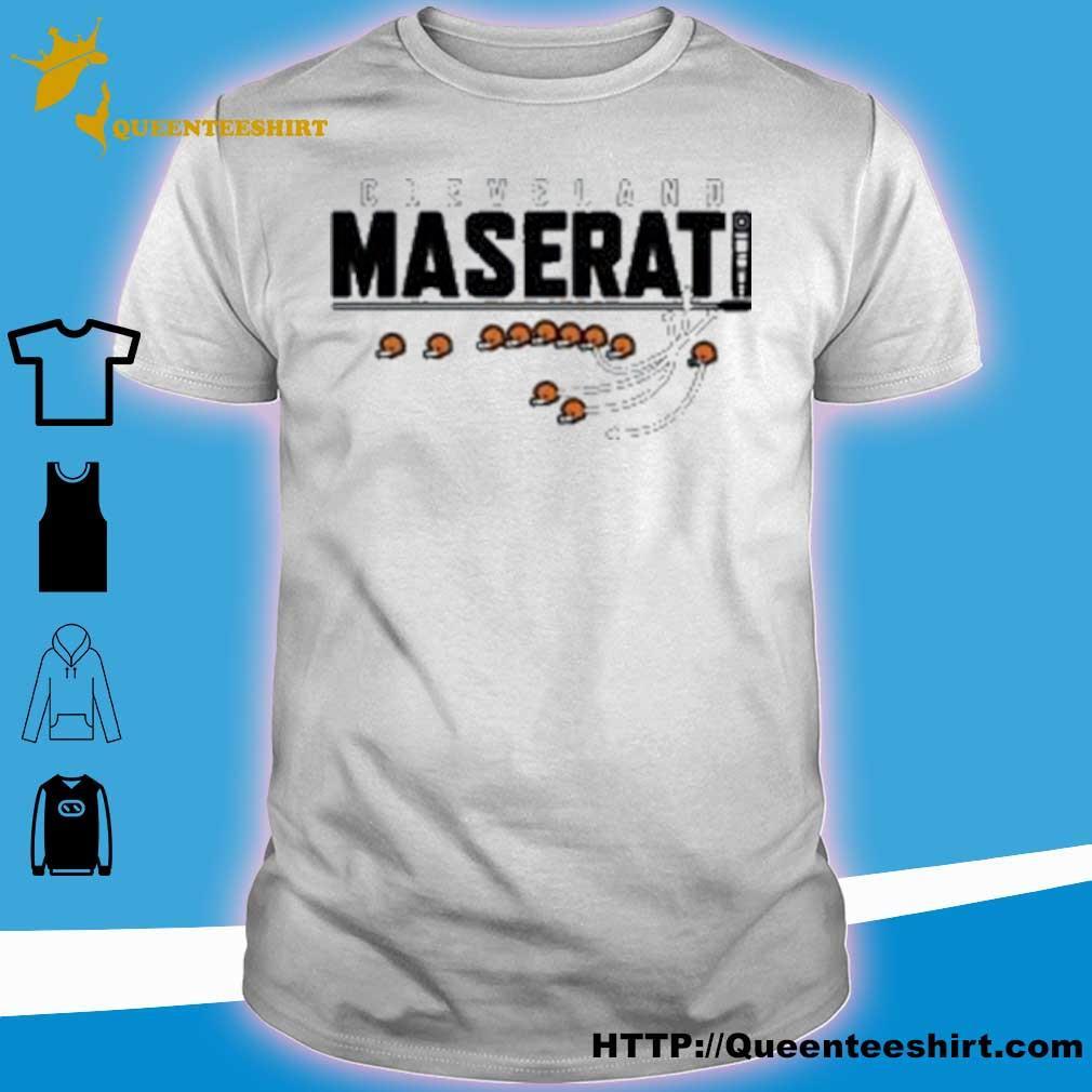 Official Cleveland Maserati Shirt