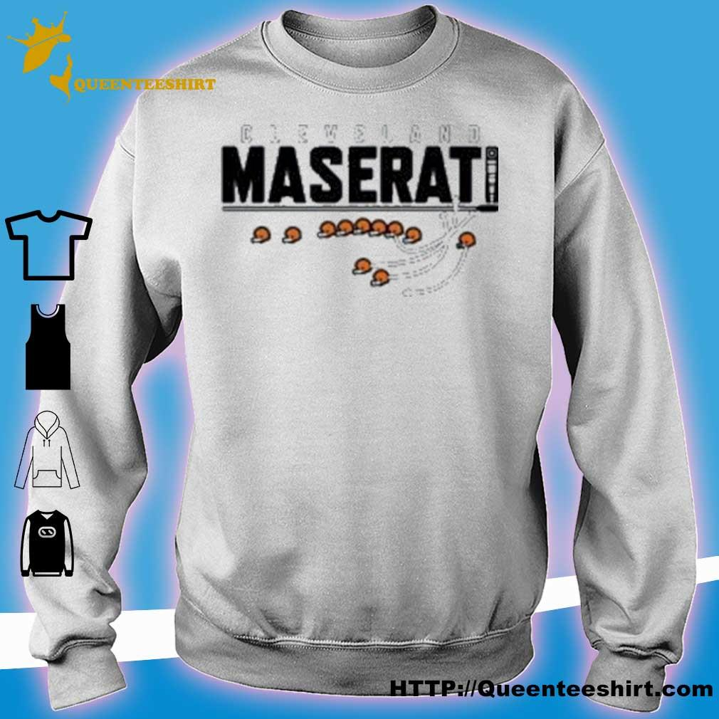 Official Cleveland Maserati Shirt sweater